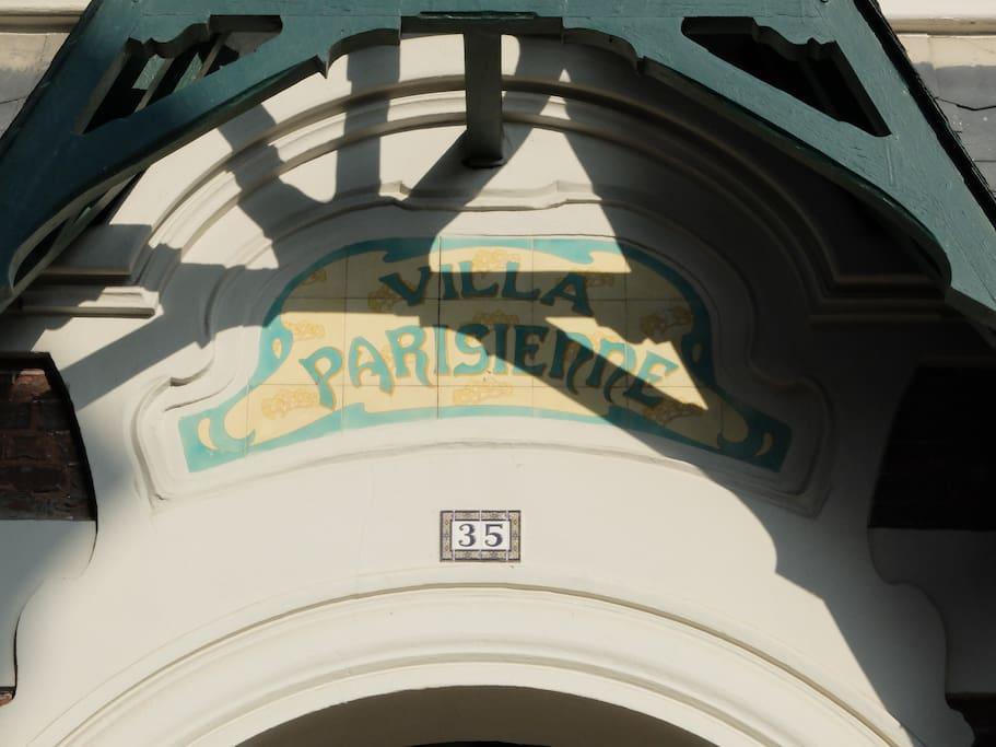 La Villa parisienne