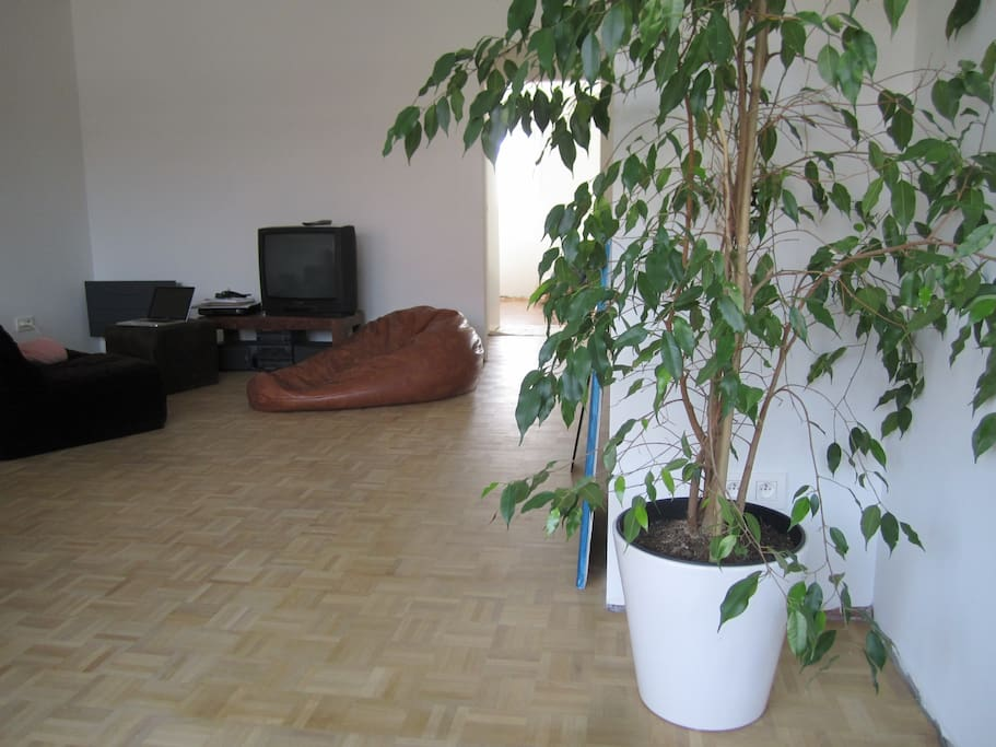 living room, view on sofa area