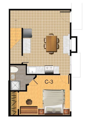Master Bedroom close to UCR