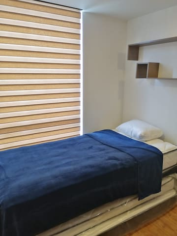 Habitación 2 camas individuales tipo nido