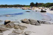 spiaggia di Cala ginepro (a 10 Km)