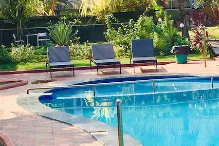 villa 14 ,pool facing, luxury villas Anjuna, GOA