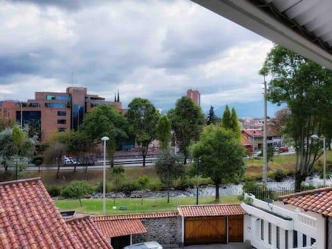 Beautiful apartment. View to TOMEBAMBA