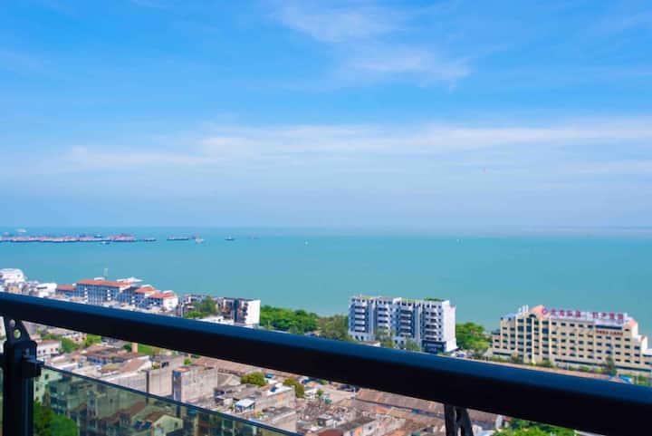 【忆海】海景两居度假公寓