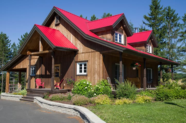 Ranch Canadien - Sainte-Clotilde-de-Beauce - Chalet