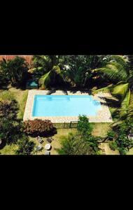 T2 meublé piscine vue mer en ville - Saint-Denis