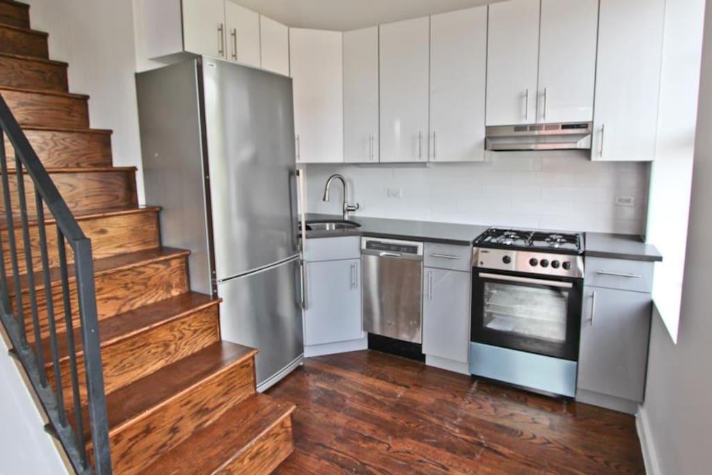 Huge - new kitchen