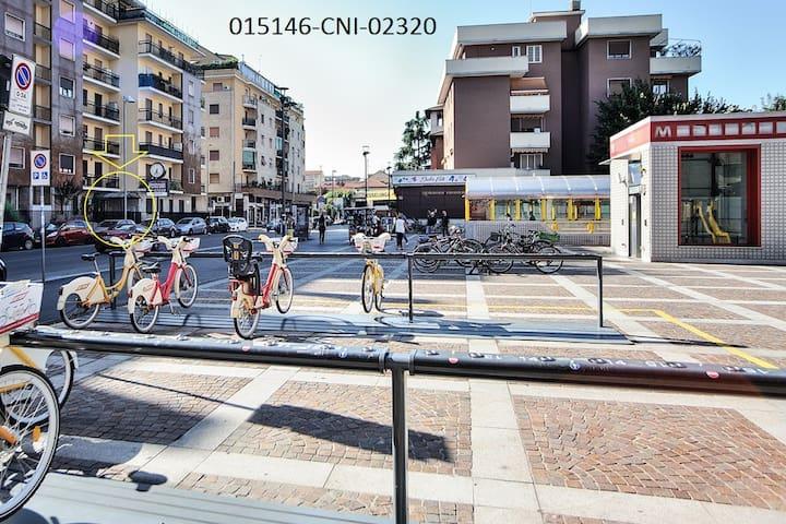 """CASA VACANZA """"SOL"""" MilanoDerganoM3 Entireapartment"""