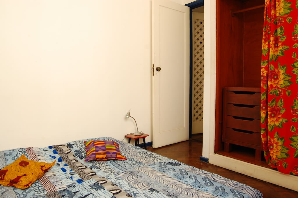 Your double room. (Room with single bed or double bed)