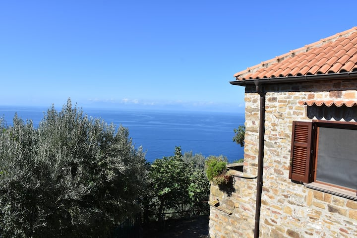CILENTO VERY PANORAMIC COTTAGE