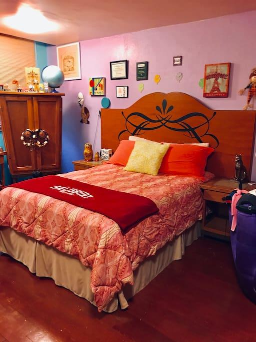 Maravillosa habitación para ti . Trae a tu pareja y pasa unos días deliciosos...