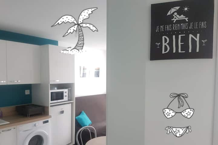 Mignon petit appartement en plein coeur de Sète