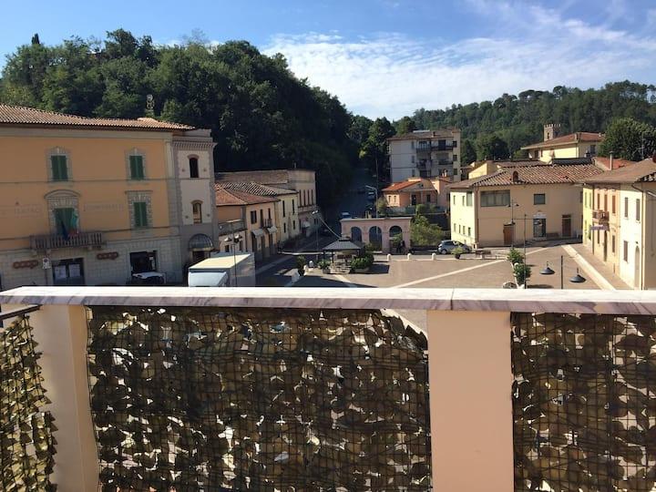 Appartamento in centro con terrazza panoramica