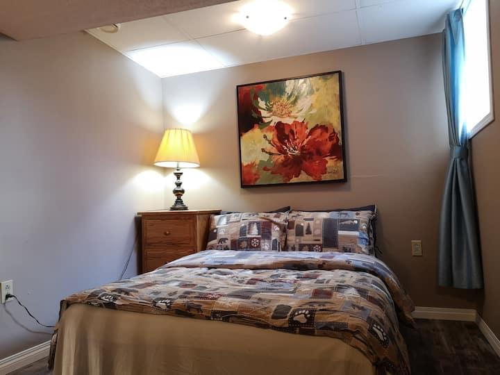 downstair full size bedroom