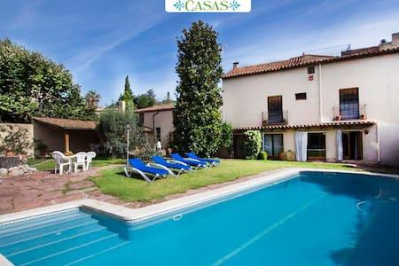 Villa Castellar 30 min from Bcn - Castellar del Vallès - Casa
