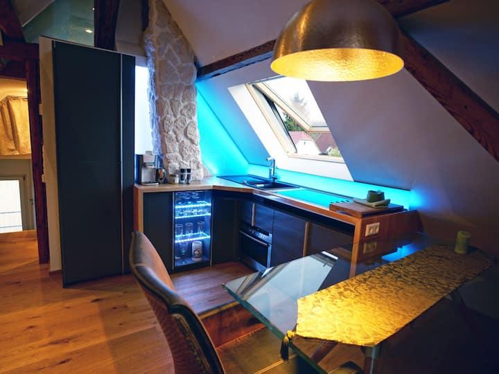 Ferienwohnung Ambiente, (Gaggenau), Ferienwohnung Ambiente, 55qm, 1 Schlafzimmer, 1 Schlafnische, max. 4 Personen
