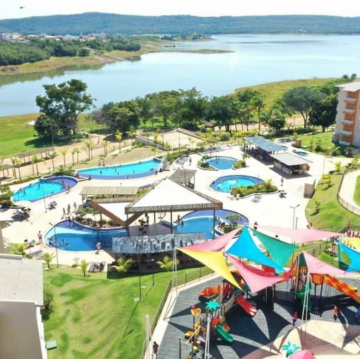 Ilhas do lago Eco resort Caldas Novas GO