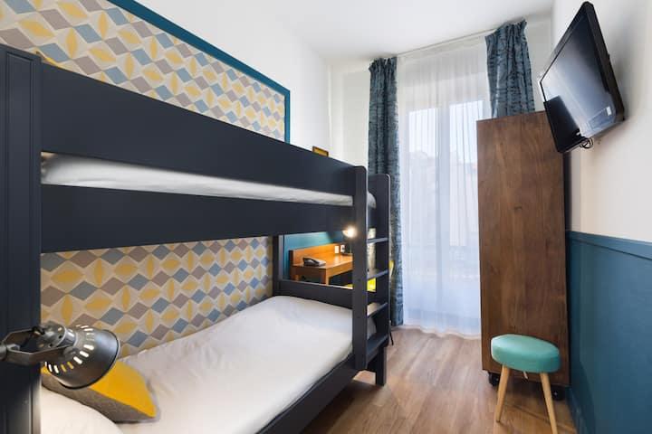 Hôtel Nap***  bunk bed room for 2 - heart of Nice