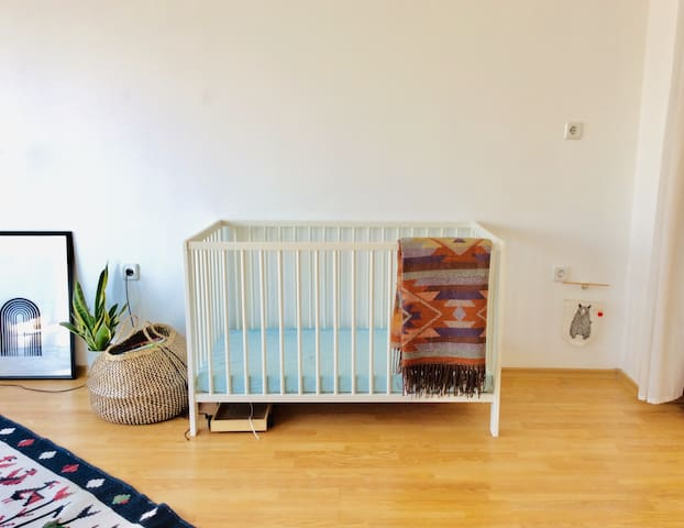 we can provide a cosy toddler bed if its needed.