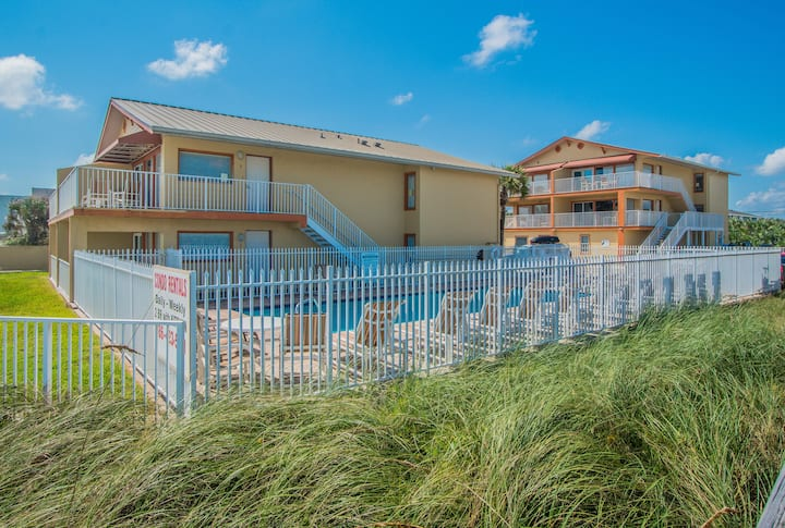 2 Br Oceanfront Condo - Partial View * Heated Pool! 6 *NSB