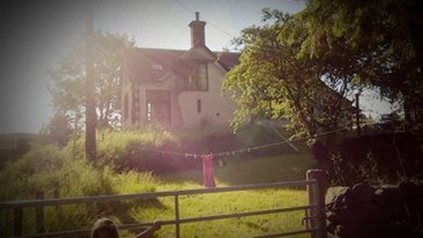 Davington Schoolhouse, whole house - Eskdalemuir