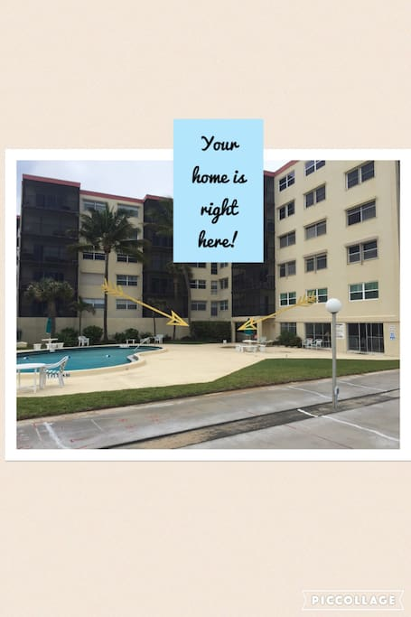 Your Unit is the Only First Floor Unit and is Located Directly Off of the Pool