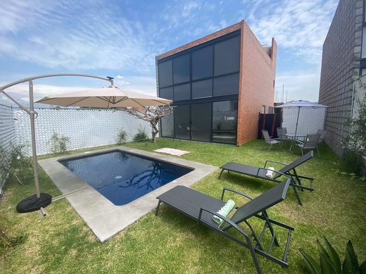 Loft moderno, cómodo y elegante
