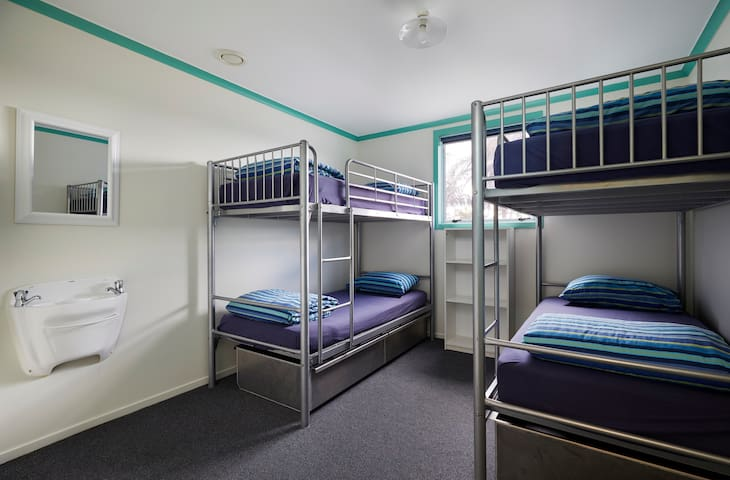 Spacious 4 Bed dorm