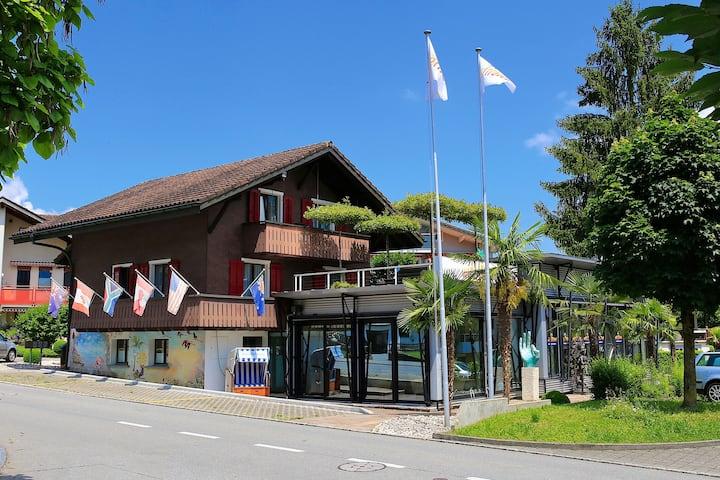 """Chalet Apartment """"Heidi"""" with balcony near Lucerne"""