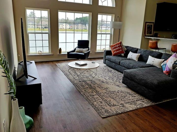 Lush Prime Lake View Home