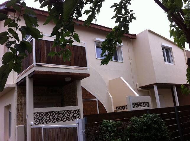 Appartement calme à proximité  du centre et  plage - Valras-Plage - Apartamento