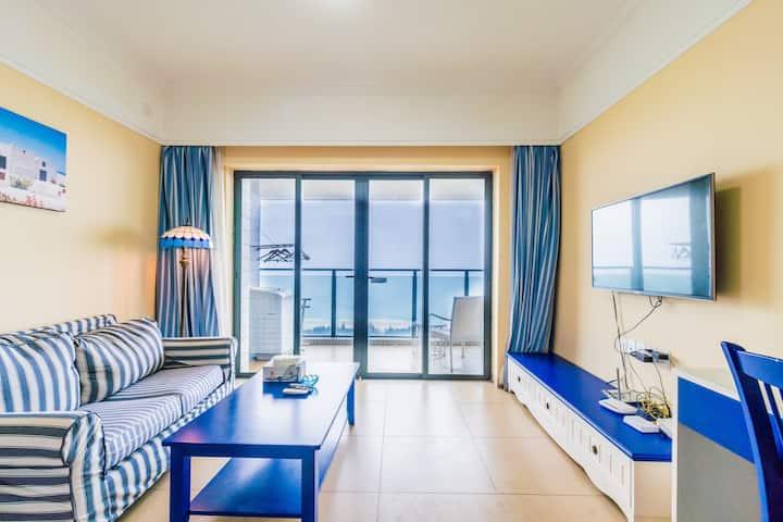 阳江海陵岛180°海景大床房