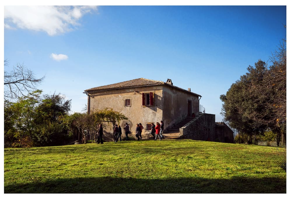 La mentuccia country house houses for rent in for Rent a home in italy