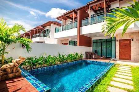 [AP5] Phuket 3 BR Pool Villa superb mountain view - Kammala - Casa de campo