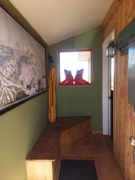 Entryway to house.