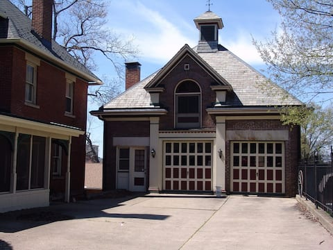 Experience the history in an 1882 Carriage House