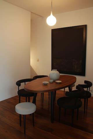 espace salle à manger Zen