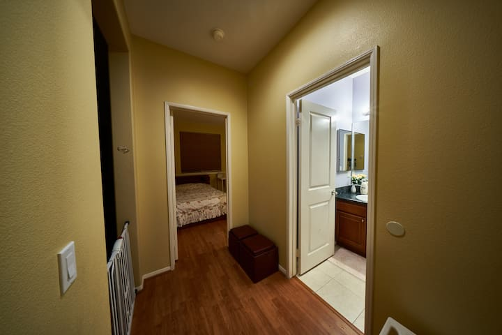 Clean cozy room in safe gated community!