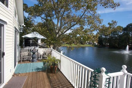 Ocean Lakes Lakefront Palace, Golf Cart, Hot Tub-2017 Filling Fast, Book Now! - Myrtle Beach - Casa