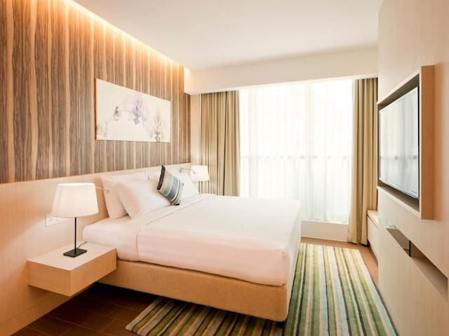 Appealing Double Or Twin Premier One Bedroom At Kuala Lumpur