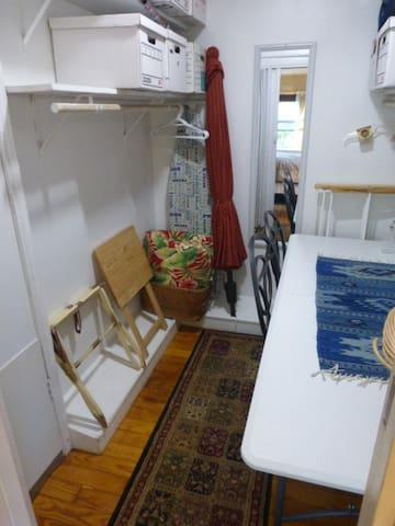 Walk-in closet from bedrrom