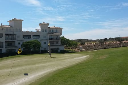 2 Bed sunny poolside apartment on golf resort