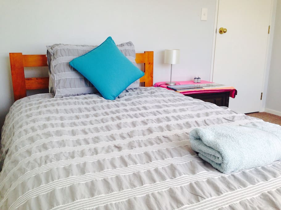 We recently got new bedsheets and bed covers for you.