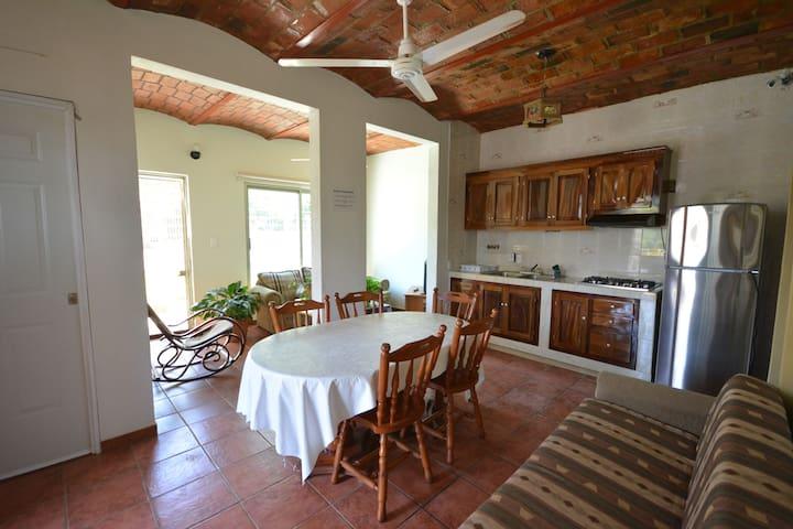 beach house Casa Rustica - Chacala - Huis