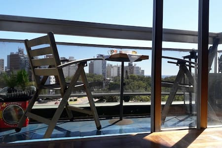 Trendy, best location 2br apt great view.Free wifi - Montevideo