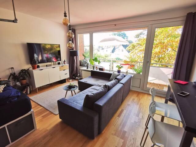 Schöne, helle Einzimmerwohnung beim Tierpark