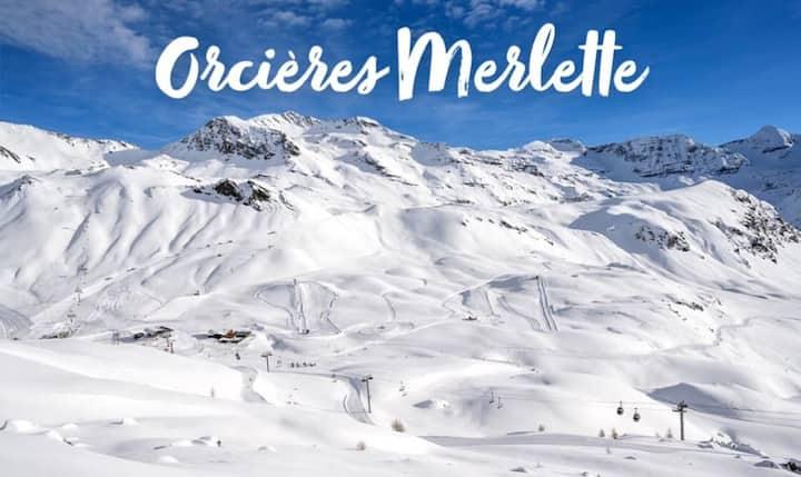 DUPLEX 8 COUCHAGES Hautes Alpes