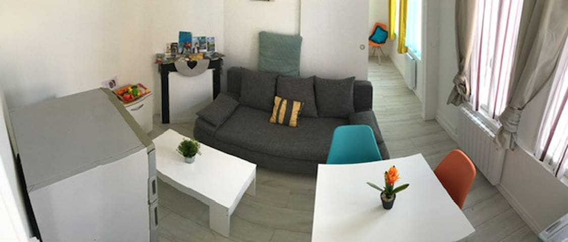 Charming apartment furnished quiet