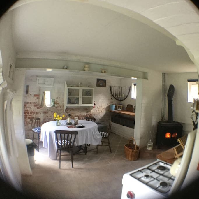 Fish eye kitchen