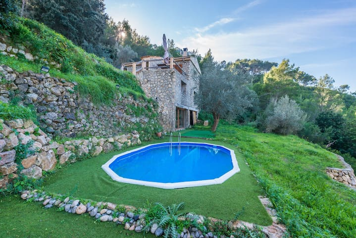 Timbals - villa in the Tramuntana Mountains - Puigpunyent - Casa de campo